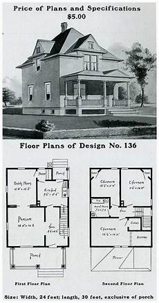 1900s house plans radford 1903 colonial revival pyramidal roof