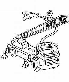 Ausmalbilder Feuerwehr Drehleiter Feuerwehrauto Feuerwehr Zum Ausmalen Malvorlagen