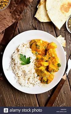 Curry Mit Reis - chicken curry stockfotos chicken curry bilder alamy