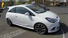 Opel Corsa E Opc - opel corsa e opc recaro seats arctic white colour