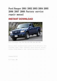 car service manuals pdf 2001 ford ranger head up display 2004 ford ranger repair manual download