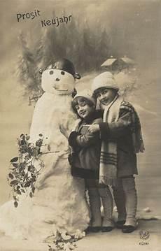 prosit neujahr vintage postcards vintage