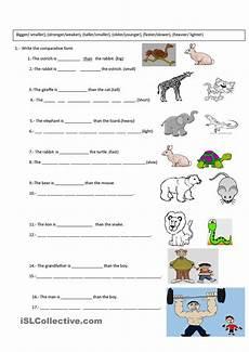 exercises y and en 19133 comparative exercise comparativos en ingles ingles para preescolar comparativos y superlativos