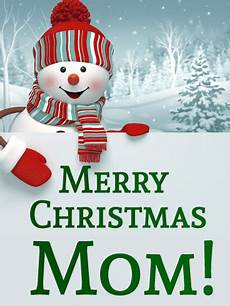 merry christmas mom pictures happy snowman christmas card for mother birthday greeting cards by davia