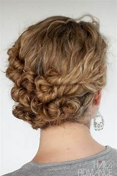 32 easy hairstyles for curly hair for short shoulder length hair hairstyles weekly