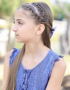 how to create a zig zag twistback cute hairstyles cute