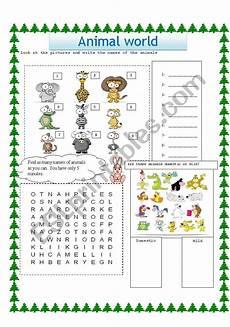 animal world worksheets 14372 animal world esl worksheet by xbassemx