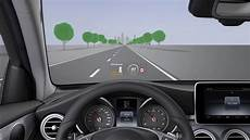 heads up display glc up display mercedes original