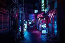 Cyberpunk Neon Tokyo Wallpaper