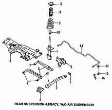 97 subaru legacy gt suspension diagram coil subaru 20380sa100 subaru genuine parts
