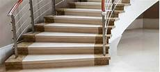 treppe 90 grad marmor treppen belastbare marmor treppen