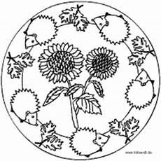 Herbst Ausmalbilder Mandala Herbst Mandala Im Kidsweb De