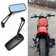 Cafe Motorcycle Mirrors black 8mm 10mm motorcycle mirrors for chopper cruiser