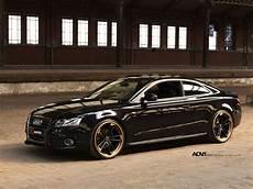 Black Audi A5 Advrsq1 Track Spec Light Matte Black