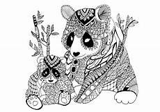 Ausmalbilder Tiere Panda Panda 60613 Panda Malbuch Fur Erwachsene