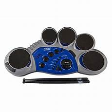 Act Discovery 5 Electronic Drum Pad Light Silver