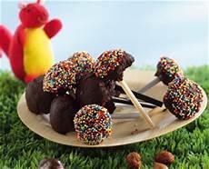 Recette Sucettes Chocolat Noisettes