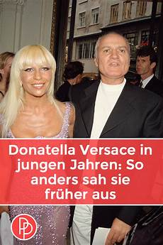 Jungs Malvorlagen Versace Donatella Versace In Jungen Jahren So Anders Sah Sie
