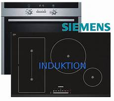herd set induktion autark siemens backofen induktion