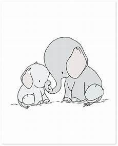 elephant nursery elephant and baby you are