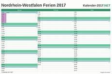 Ferien Nordrhein Westfalen 2017 Ferienkalender 220 Bersicht