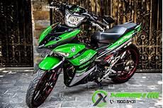 Motor Mx King Modifikasi by Top Modifikasi Motor Mx King 150 Terbaru Modifikasi