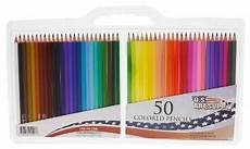 us art supply 50 piece artist grade colored pencil set