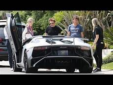 voitures johnny hallyday johnny hallyday makes room for a new lamborghini