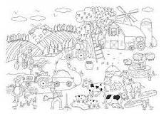 Malvorlagen Bauernhof Urlaub Bauernhof Wimmelbild Malvorlagen Ausmalbilder