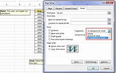 printing comments in excel few easy ways