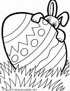 easter printable coloring pages the coloring barn printable magnet ideas easter egg