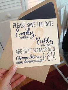 Save The Date Cards Ideas For Weddings