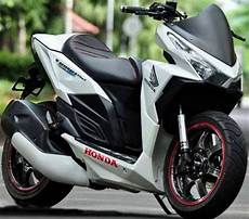 Vario 125 Modif Ringan by Modifikasi Honda Vario 125 Touring Racing
