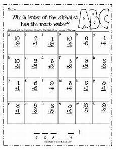 riddles worksheets for grade 2 10872 freebie addition and subtraction riddle firstgrade school math school
