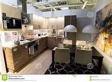 Kitchen Furniture Store Kitchen In The Furniture Store Ikea Editorial Photo