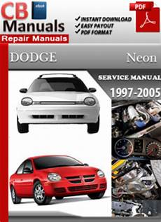 car owners manuals free downloads 1997 dodge grand caravan auto manual dodge neon 1997 2005 service manual free download service repair manuals