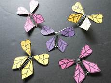 how to make a twirling paper butterfly 19 steps with