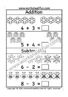 subtraction and addition worksheets for kindergarten 9991 mixed addition subtraction 5 worksheets kindergarten worksheets worksheets