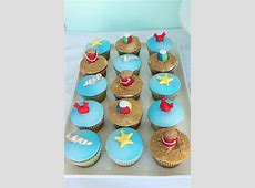 Beach Cupcakes by Sharon Wee Creations, via Flickr   The