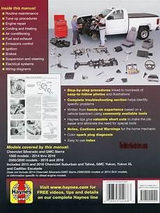 online service manuals 2010 gmc yukon xl 2500 electronic throttle control repair manual chevy silverado tahoe sierra escalade 2014 2016