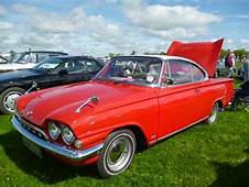 A Stunning Bright Red Ford Consul Capri 2 Door Coupe