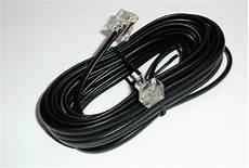 le anschließen 3 kabel faxkabel westernkabel 10m rj11 fax kabel all in one