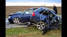 Unfall A 4 - audi crash compilation part 2 tt a4 a5 a6 q7 100