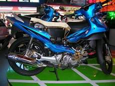 Modif Motor Shogun by Modifikasi Motor Modifikasi Motor Suzuki Shogun With