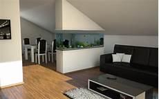 Aquarium In Wand Integrieren Kleines Aquarium Als Beruhigendes Element In Die Wohnung