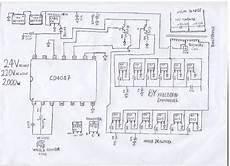 watt inverter v dc to v ac schematic diagram pictures