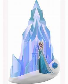 disney frozen elsa 3d wall light bedroom light
