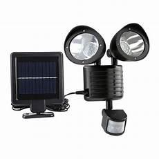 solar 22led pir motion sensor yard wall light outdoor