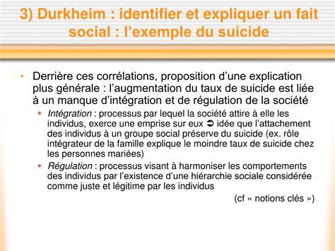 Le Fait Social Durkheim