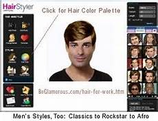hair for work test virtual hairstyles colors online